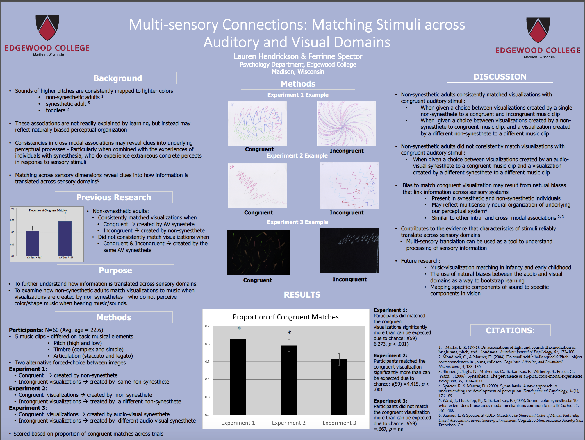 multi sensory connections